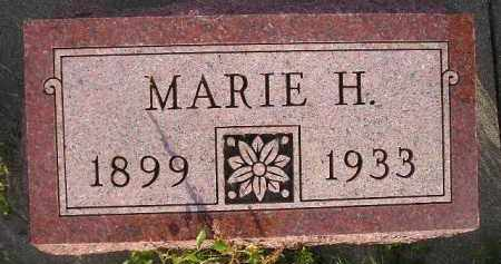 FREEMAN, MARIE H. - Miner County, South Dakota | MARIE H. FREEMAN - South Dakota Gravestone Photos