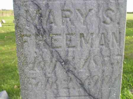 FREEMAN, MARY S. - Miner County, South Dakota | MARY S. FREEMAN - South Dakota Gravestone Photos