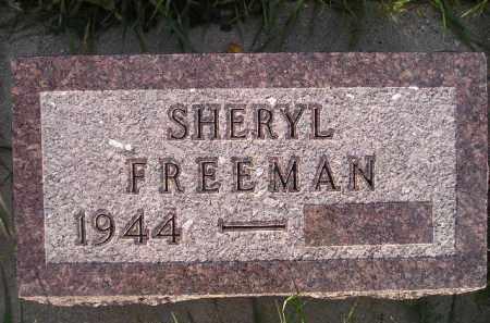 FREEMAN, SHERYL - Miner County, South Dakota | SHERYL FREEMAN - South Dakota Gravestone Photos