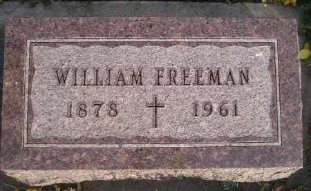 FREEMAN, WILLIAM - Miner County, South Dakota | WILLIAM FREEMAN - South Dakota Gravestone Photos