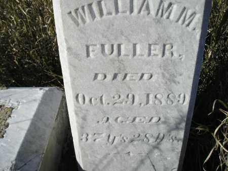 FULLER, WILLIAM M. - Miner County, South Dakota | WILLIAM M. FULLER - South Dakota Gravestone Photos