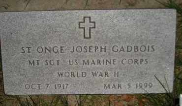 GADBOIS, ST ONGE JOSEPH - Miner County, South Dakota | ST ONGE JOSEPH GADBOIS - South Dakota Gravestone Photos