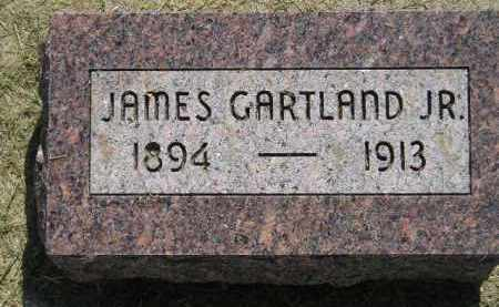 GARTLAND, JAMES JR. - Miner County, South Dakota | JAMES JR. GARTLAND - South Dakota Gravestone Photos