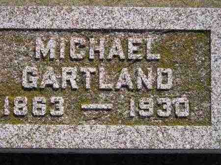 GARTLAND, MICHAEL - Miner County, South Dakota | MICHAEL GARTLAND - South Dakota Gravestone Photos