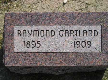 GARTLAND, RAYMOND - Miner County, South Dakota   RAYMOND GARTLAND - South Dakota Gravestone Photos