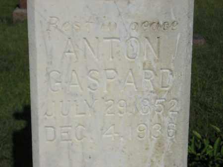 GASPARD, ANTON - Miner County, South Dakota | ANTON GASPARD - South Dakota Gravestone Photos