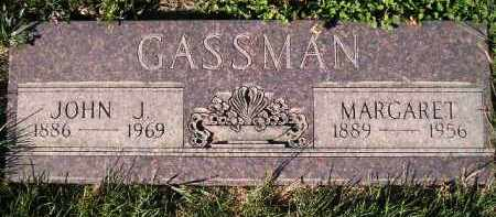 GASSMAN, MARGARET - Miner County, South Dakota | MARGARET GASSMAN - South Dakota Gravestone Photos