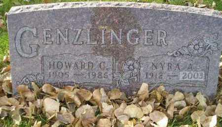GENZLINGER, NYRA A. - Miner County, South Dakota | NYRA A. GENZLINGER - South Dakota Gravestone Photos