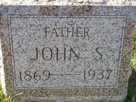 GENZLINGER, JOHN S. - Miner County, South Dakota | JOHN S. GENZLINGER - South Dakota Gravestone Photos