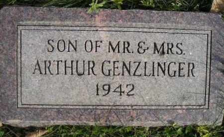 GENZLINGER, SON 1942 - Miner County, South Dakota | SON 1942 GENZLINGER - South Dakota Gravestone Photos