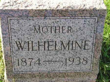 GENZLINGER, WILHELMINE - Miner County, South Dakota | WILHELMINE GENZLINGER - South Dakota Gravestone Photos