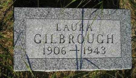 GILBROUGH, LAURA - Miner County, South Dakota | LAURA GILBROUGH - South Dakota Gravestone Photos
