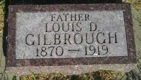 GILBROUGH, LOUIS D. - Miner County, South Dakota | LOUIS D. GILBROUGH - South Dakota Gravestone Photos