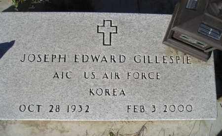 GILLESPIE, JOSEPH EDWARD - Miner County, South Dakota   JOSEPH EDWARD GILLESPIE - South Dakota Gravestone Photos