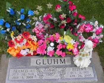 GLUHM, HELEN E - Miner County, South Dakota | HELEN E GLUHM - South Dakota Gravestone Photos