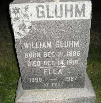 GLUHM, WILLIAM - Miner County, South Dakota | WILLIAM GLUHM - South Dakota Gravestone Photos