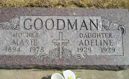 GOODMAN, ADELINE - Miner County, South Dakota | ADELINE GOODMAN - South Dakota Gravestone Photos