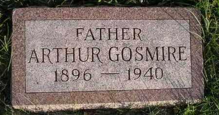 GOSMIRE, ARTHUR - Miner County, South Dakota | ARTHUR GOSMIRE - South Dakota Gravestone Photos