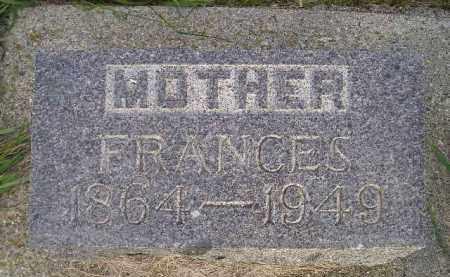GOSMIRE, FRANCES - Miner County, South Dakota | FRANCES GOSMIRE - South Dakota Gravestone Photos