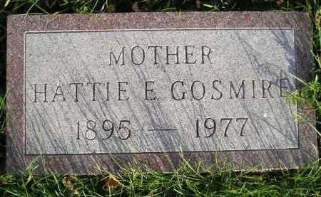 GOSMIRE, HATTIE E. - Miner County, South Dakota | HATTIE E. GOSMIRE - South Dakota Gravestone Photos