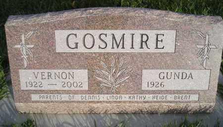 GOSMIRE, VERNON - Miner County, South Dakota | VERNON GOSMIRE - South Dakota Gravestone Photos