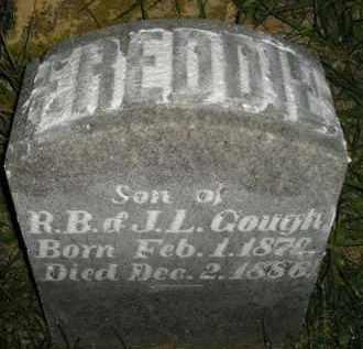 GOUGH, FREDDIE - Miner County, South Dakota   FREDDIE GOUGH - South Dakota Gravestone Photos