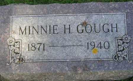 GOUGH, MINNIE H. - Miner County, South Dakota | MINNIE H. GOUGH - South Dakota Gravestone Photos