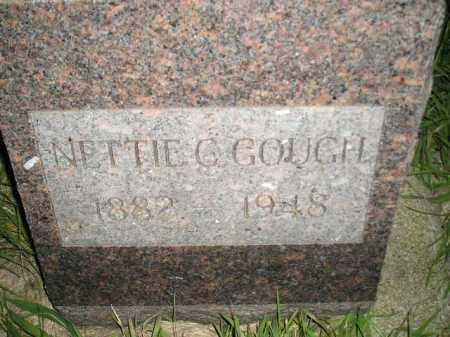 GOUGH, NETTIE C. - Miner County, South Dakota | NETTIE C. GOUGH - South Dakota Gravestone Photos