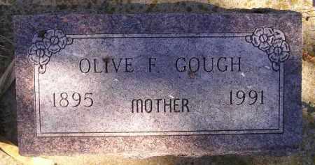 GOUGH, OLIVE F. - Miner County, South Dakota | OLIVE F. GOUGH - South Dakota Gravestone Photos