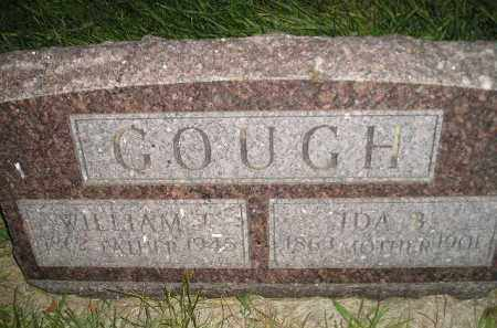 GOUGH, WILLIAM T. - Miner County, South Dakota | WILLIAM T. GOUGH - South Dakota Gravestone Photos