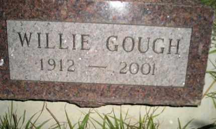 GOUGH, WILLIE - Miner County, South Dakota | WILLIE GOUGH - South Dakota Gravestone Photos