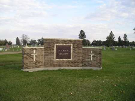 *GRACELAND, ENTRY - Miner County, South Dakota | ENTRY *GRACELAND - South Dakota Gravestone Photos