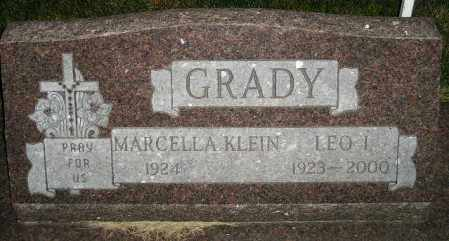 GRADY, LEO I. - Miner County, South Dakota | LEO I. GRADY - South Dakota Gravestone Photos