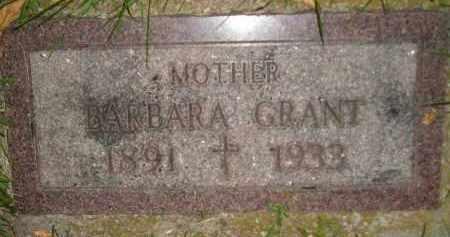 GRANT, BARBARA - Miner County, South Dakota | BARBARA GRANT - South Dakota Gravestone Photos