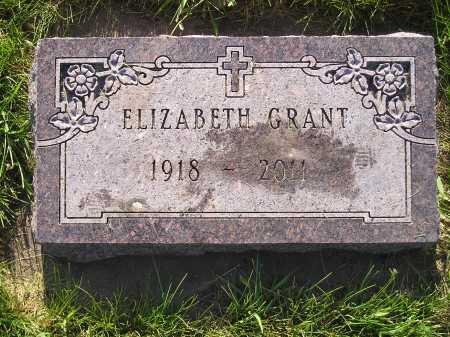 GRANT, ELIZABETH - Miner County, South Dakota   ELIZABETH GRANT - South Dakota Gravestone Photos