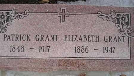 GRANT, PATRICK - Miner County, South Dakota | PATRICK GRANT - South Dakota Gravestone Photos