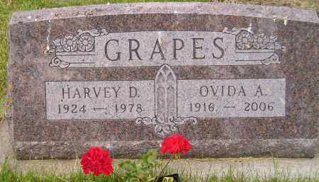 GRAPES, OVIDA A ROTI - Miner County, South Dakota | OVIDA A ROTI GRAPES - South Dakota Gravestone Photos