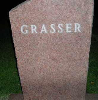 GRASSER, FAMILY STONE - Miner County, South Dakota | FAMILY STONE GRASSER - South Dakota Gravestone Photos
