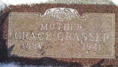 GRASSER, GRACE MAHONEY - Miner County, South Dakota | GRACE MAHONEY GRASSER - South Dakota Gravestone Photos