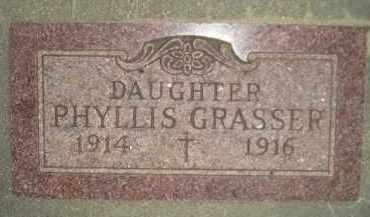 GRASSER, PHYLLIS - Miner County, South Dakota | PHYLLIS GRASSER - South Dakota Gravestone Photos