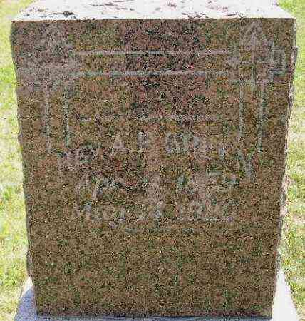 GREEN, A.P. (REV.) - Miner County, South Dakota | A.P. (REV.) GREEN - South Dakota Gravestone Photos