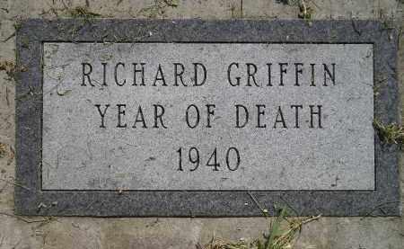 GRIFFIN, RICHARD - Miner County, South Dakota | RICHARD GRIFFIN - South Dakota Gravestone Photos