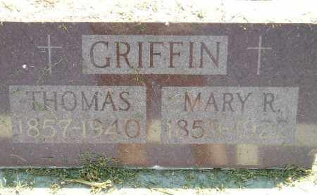 GRIFFIN, MARY R. - Miner County, South Dakota | MARY R. GRIFFIN - South Dakota Gravestone Photos