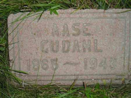 GUDAHL, AASE - Miner County, South Dakota   AASE GUDAHL - South Dakota Gravestone Photos