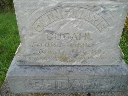 GUDAHL, OLINE MARIE - Miner County, South Dakota | OLINE MARIE GUDAHL - South Dakota Gravestone Photos