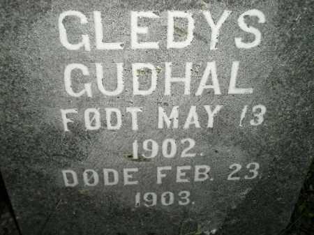 GUDHAL - GUDAHL, GLEDYS - Miner County, South Dakota | GLEDYS GUDHAL - GUDAHL - South Dakota Gravestone Photos