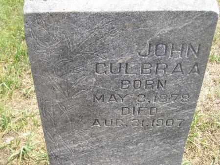 GULBRAA, JOHN - Miner County, South Dakota | JOHN GULBRAA - South Dakota Gravestone Photos