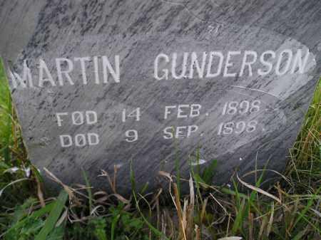 GUNDERSON, MARTIN - Miner County, South Dakota | MARTIN GUNDERSON - South Dakota Gravestone Photos