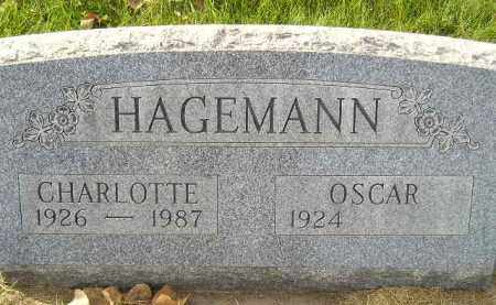 HAGEMANN, CHARLOTTE - Miner County, South Dakota | CHARLOTTE HAGEMANN - South Dakota Gravestone Photos