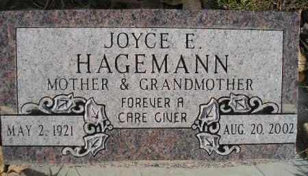 HAGEMANN, JOYCE E. - Miner County, South Dakota   JOYCE E. HAGEMANN - South Dakota Gravestone Photos